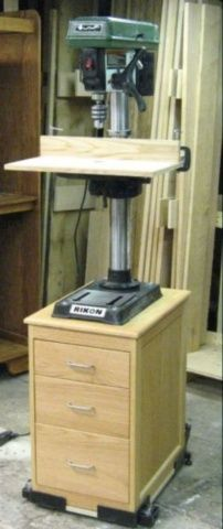 Drill press stand - Woodworking Talk - Woodworkers Forum