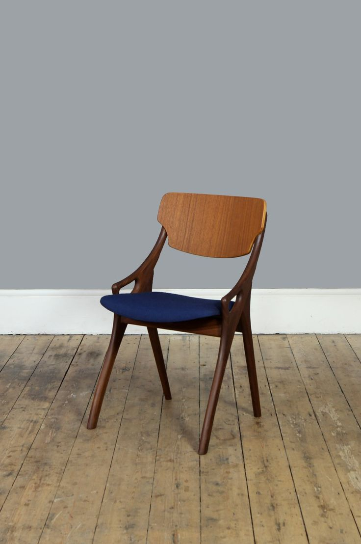 Blue Occasional Chair by Arne Hovmand Olsen – Forest London