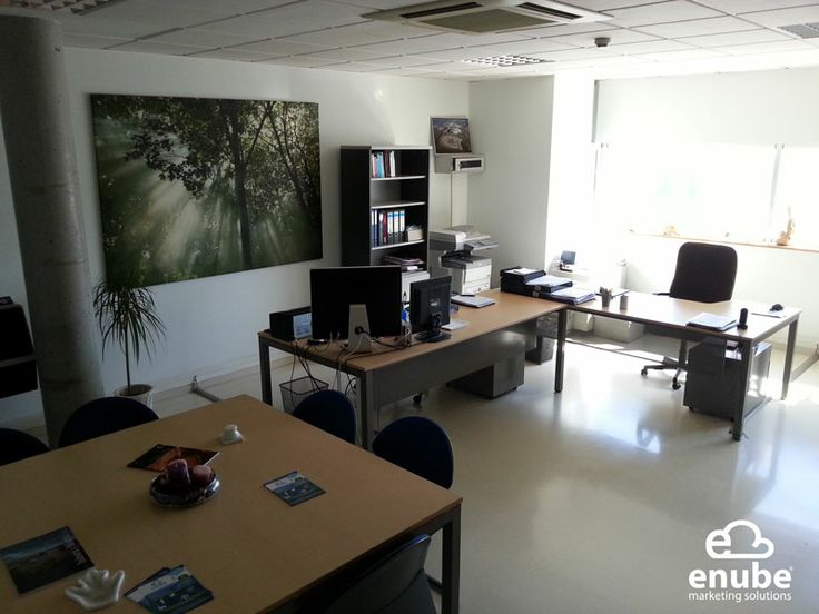 Nuestras Oficinas de Enube Marketing Solutions en Edificio Corona Center, C/ Perú, 49. 1ª Planta. Módulo 23. Bormujos - Sevilla.