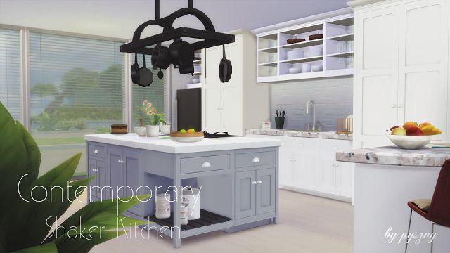 Les 20729 meilleures images du tableau sims 4 cc finds sur pinterest les sims meuble et objet - Meuble shaker ...