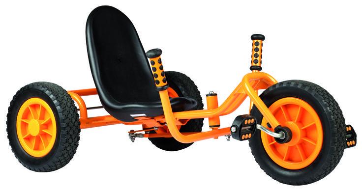 BICICLETA RYDER ¡Único para todos los terrenos! Esta bicicleta o ofrece con su bajo asiento y el manillar también a altura del asiento un placer especial en los paseos. Edad recomendada De 5 a 8 años #coche #kart #bicicleta  http://www.babycaprichos.com/bicicleta-ryder.html