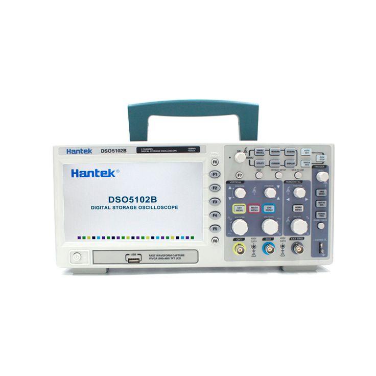 Hantek dso5102bオシロスコープ2チャンネル100 mhz卓上usb osciloscopioデジタルストレージ診断のツールよりも優れdso5102p
