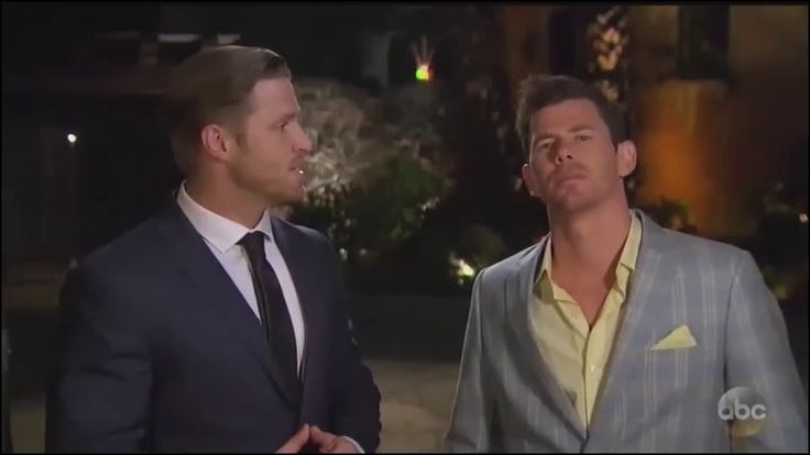 Bachelorette contestants start fighting right after they get rejected.