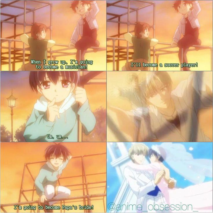 Cooking Papa Kiss Manga: Papa To Kiss In The Dark. KyousukexMira [[ Collage By
