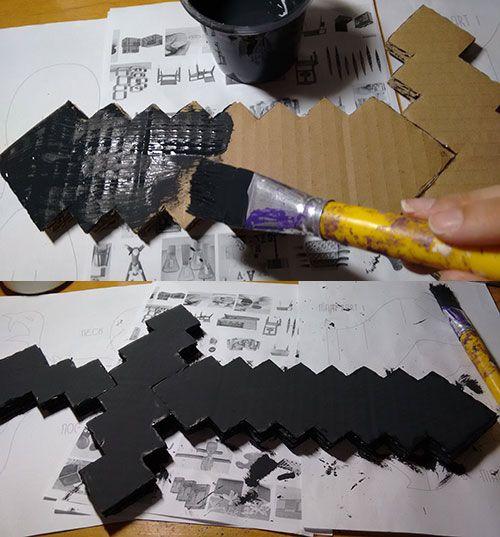 DIY: Espadas de Min ecraft                                                                                                                                                      Mais