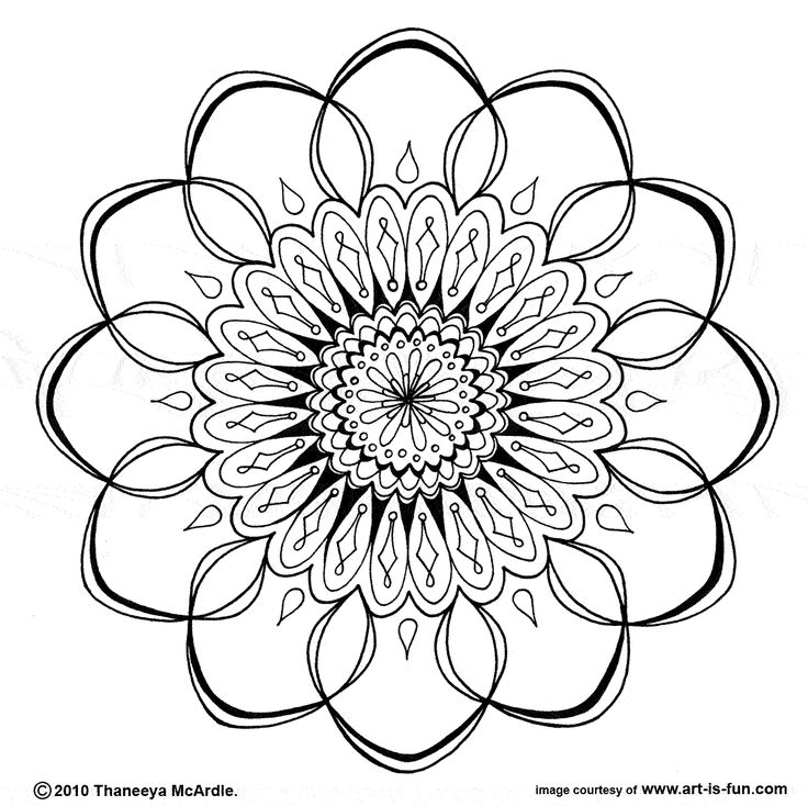 Free printable mandalas: Craft, Mandala Design, Mandala Coloring Pages, Free Mandala, Mandalas, Free Printable, Tattoo, Printable Coloring