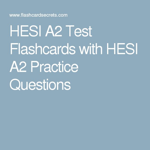 87 best hesi a2 images on pinterest health school tips and hesi a2 test flashcards with hesi a2 practice questions fandeluxe Choice Image
