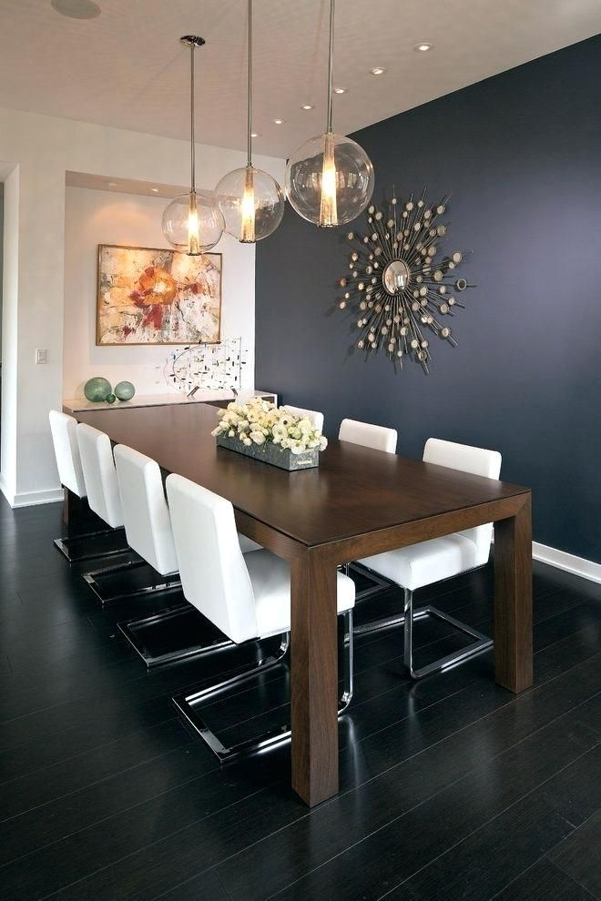 Image Result For Blue Accent Wall Dining Room Luxury Dinning Room Dining Room Small Dining Room Design