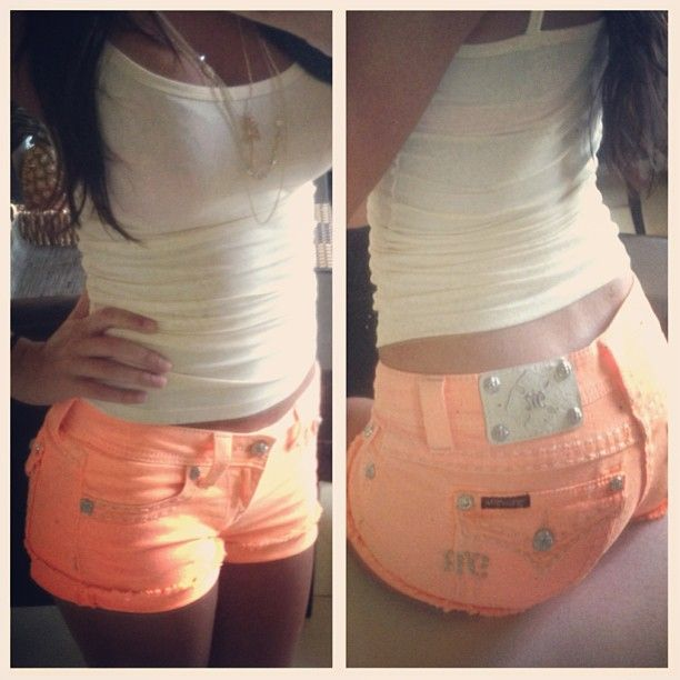 I want these shorts!! Miss Me <3