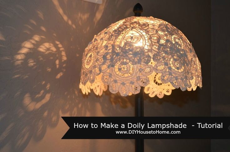 I was browsing through my Pinterest looking for a project idea and came across a pin from a couple years back of a doily hanging lamp. I was totally in love with- (I tried to link to it and unfortunately the link no longer works) but I love the shadows it created on the [...]