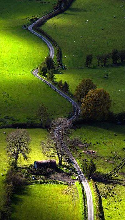 The Newlands Valley is in the Lake Distric, England (by John Finney)
