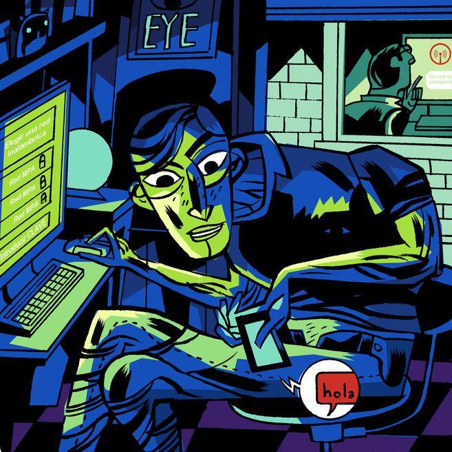 Detenido por piratear la wifi      Arrestado un joven por descubrimiento y revelación de secretos al usar la conexión a internet de sus vecinos para acosar a menores. Además, tenía archivos pedófilos
