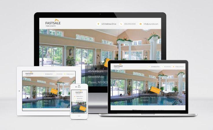 Free. Fastsale Real Estate Wordpress Theme