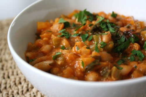 Rainbow chard and white bean stew | Food | Pinterest