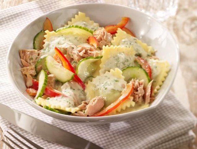 Thunfisch-Nudelsalat (430 kcal)