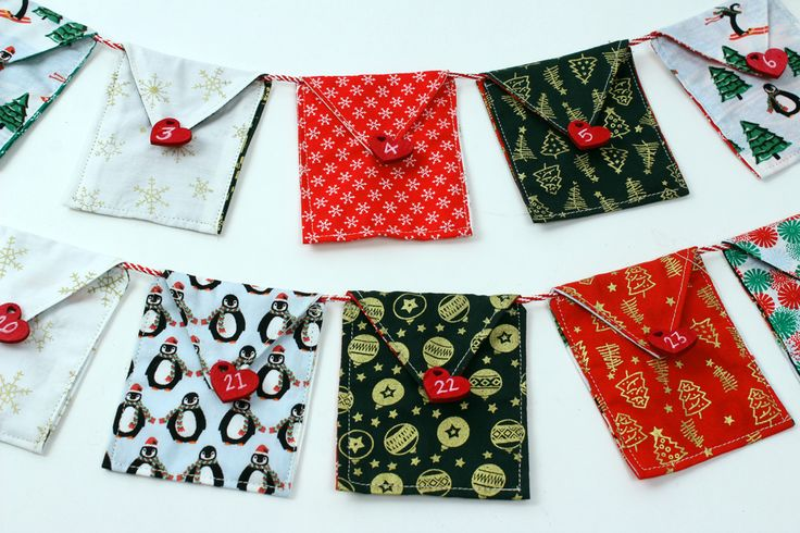 Advent is always a fun tradition to follow at Christmas time. Make yours extra special this year by making some fabric advent bunting, a great make that will last for years to come, and you can fill with your favourite things!