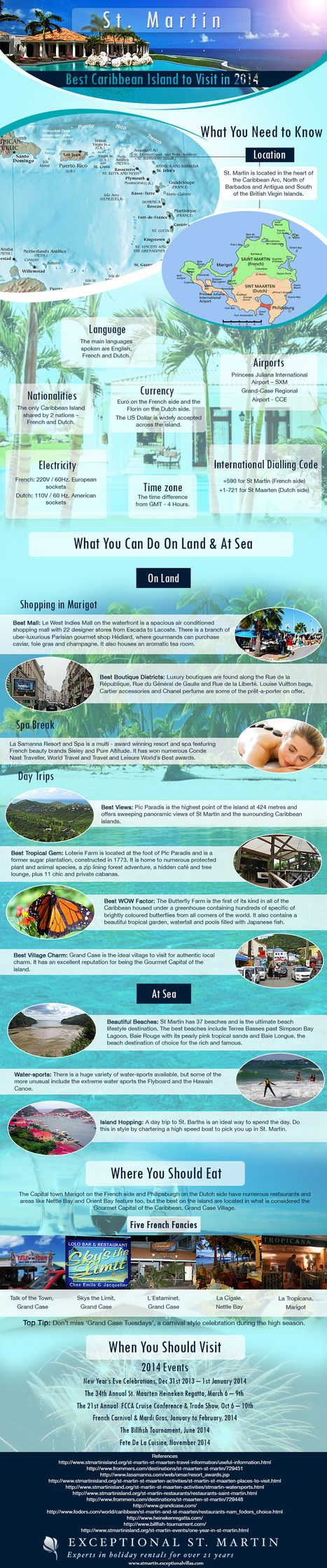 St. Martin Infographic | Caribbean Things To Do | Scoop.it