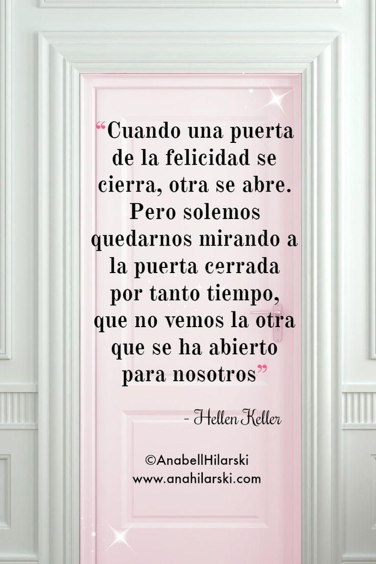 Cuando la puerta de la felicidad se cierra otra puerta se for Puerta que se abre sola