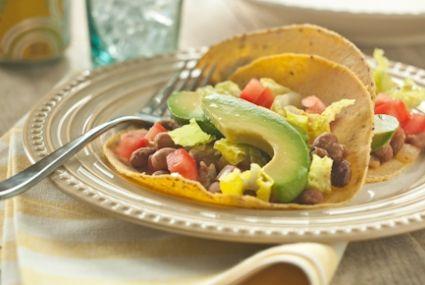 Refried Bean and Avocado Soft Tacos   Whole Foods Market