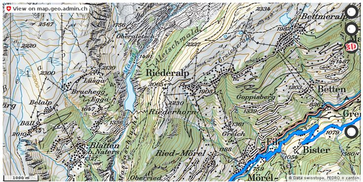 Riederalp VS Velowege Fahrrad velotour #mobil #routenplaner http://ift.tt/2BpDdov #geodaten #schweiz