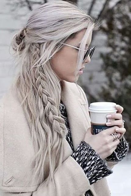 long trendy hair goals