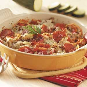 Favorite Italian Casserole Recipe from Taste of Home -- shared by Lee Sauers of Mifflinburg, Pennsylvania