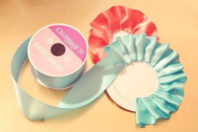 Dolled up show ribbons (prize ribbons)