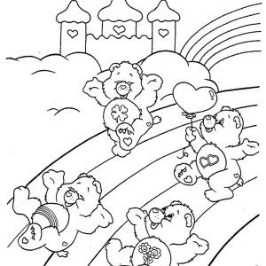 108 best Care Bears 4 images on Pinterest Care bears Coloring