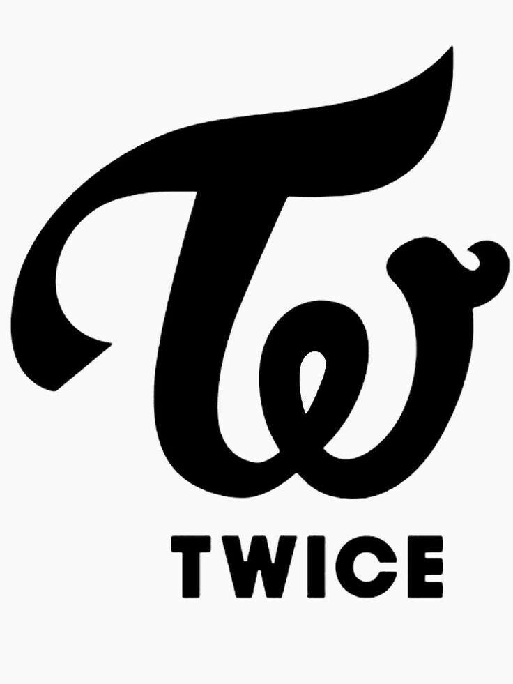 Twice Logo Gambar Gambar Simpel Selebritas