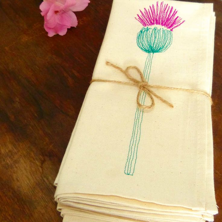 Jaggy Thistle Napkins