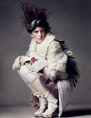 Thanks to Vogue UK Magazine