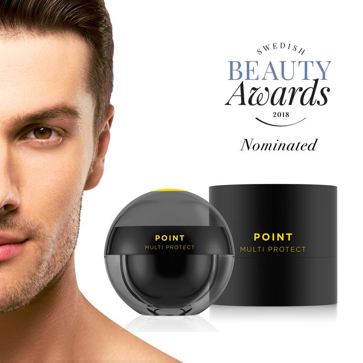 """pHformula is so very excited about the POINT multi protect nomination in the """"Best Product for Men"""" category by the Swedish Beauty Awards!  #POINT #makeadifference"""