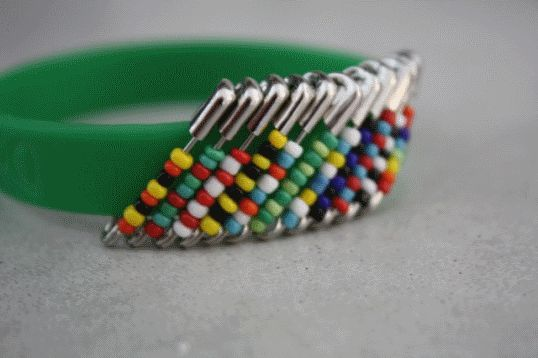 Best 25 kingdom rock crafts ideas on pinterest for Safety pins for crafts