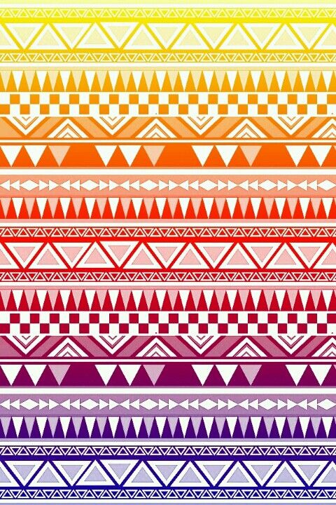 rainbow white tribal print wallpaper ♥♥ | Wallpaper ...