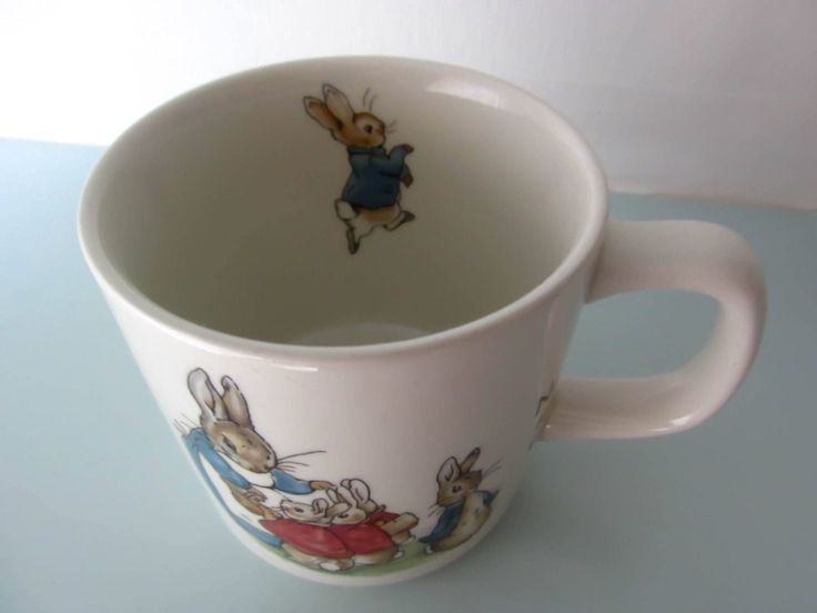 Peter rabbit cup Peter rabbit mug, Beatrix potter cup, Wedgwood, baby gift, christening gift, baby shower gift, beaker, vintage by thevintagemagpie01 on Etsy