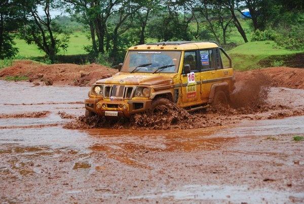 Mahindra & Mahindra Authentic Goa Escape 2012: XUV 500, Thar, Bolero Stinger, Bolero and Scorpio