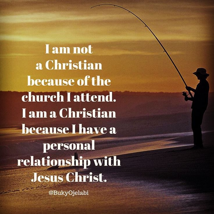 building a personal relationship with jesus christ