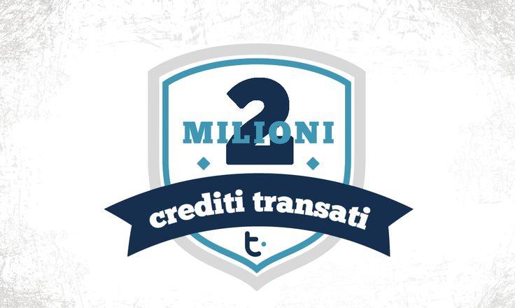 2 milioni di crediti Tibex transati all'interno del Circuito