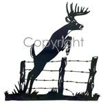 Jumping Buck Decal