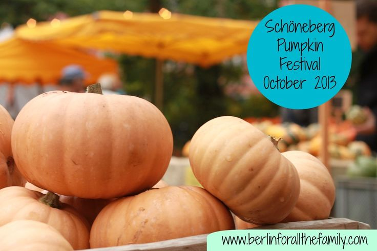 Pumpkin Festival in Schöneberg, Berlin. Every October, get in to the Autumnal spirit with a fabulous celebration of pumpkins and all things seasonal. #Berlin #Germany #Travel