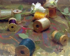 """""""Threads"""" by Daniel Keys"""