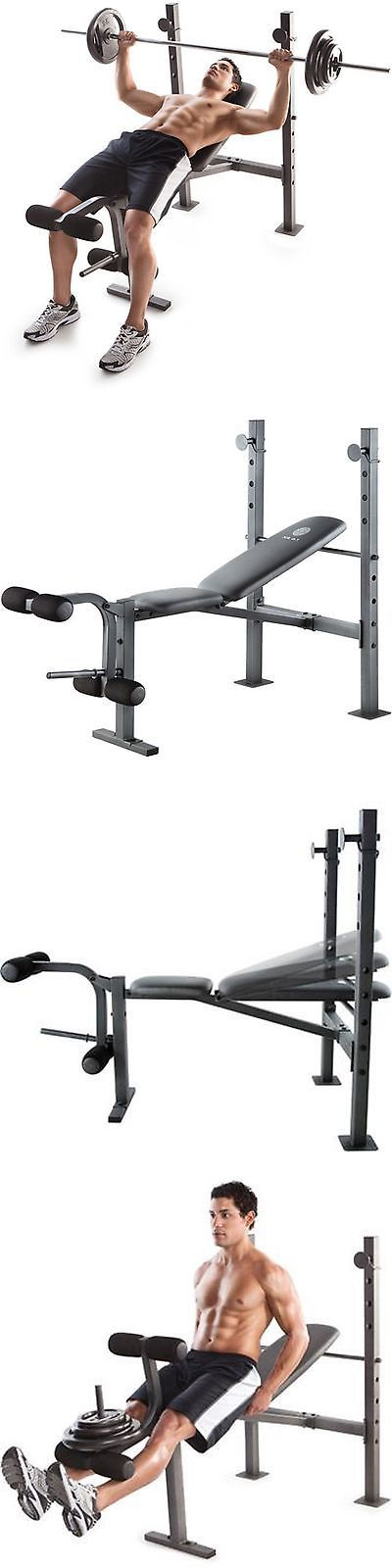 Benches 15281: Golds Gym Bench Press Weights Lifting Barbell Exercise Home Incline Exercise -> BUY IT NOW ONLY: $72.16 on eBay!