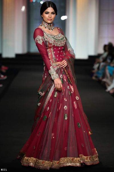 #Aamby Bridal Fashion Week 2012 | Ashima-Leena #indianwedding