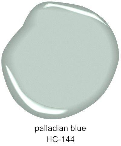 #BenjaminMoore Palladian Blue HC-144