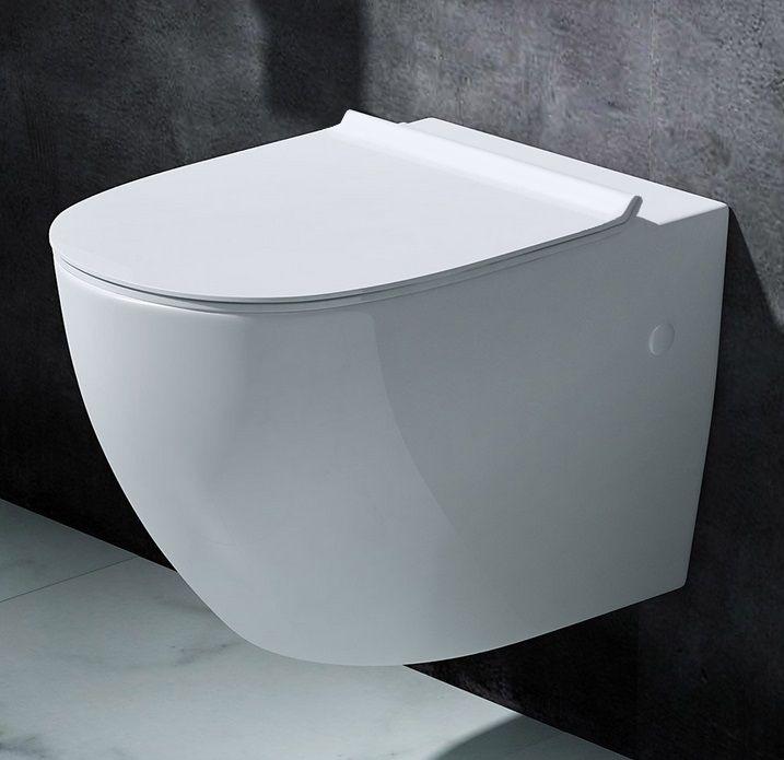 Miska WC wisząca Benito Slim Rea - sklep dom-lazienka.pl Twoje wyposażenie łazienki