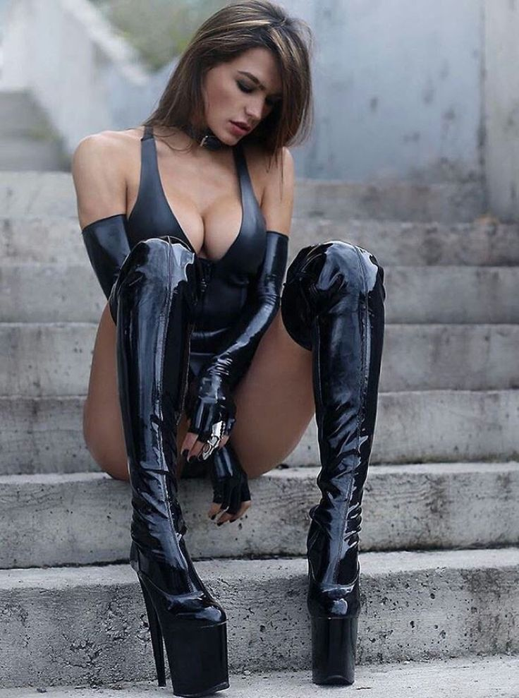1265 Best Fetish - Latex, Leather, Pvc  Boots Images On -8459