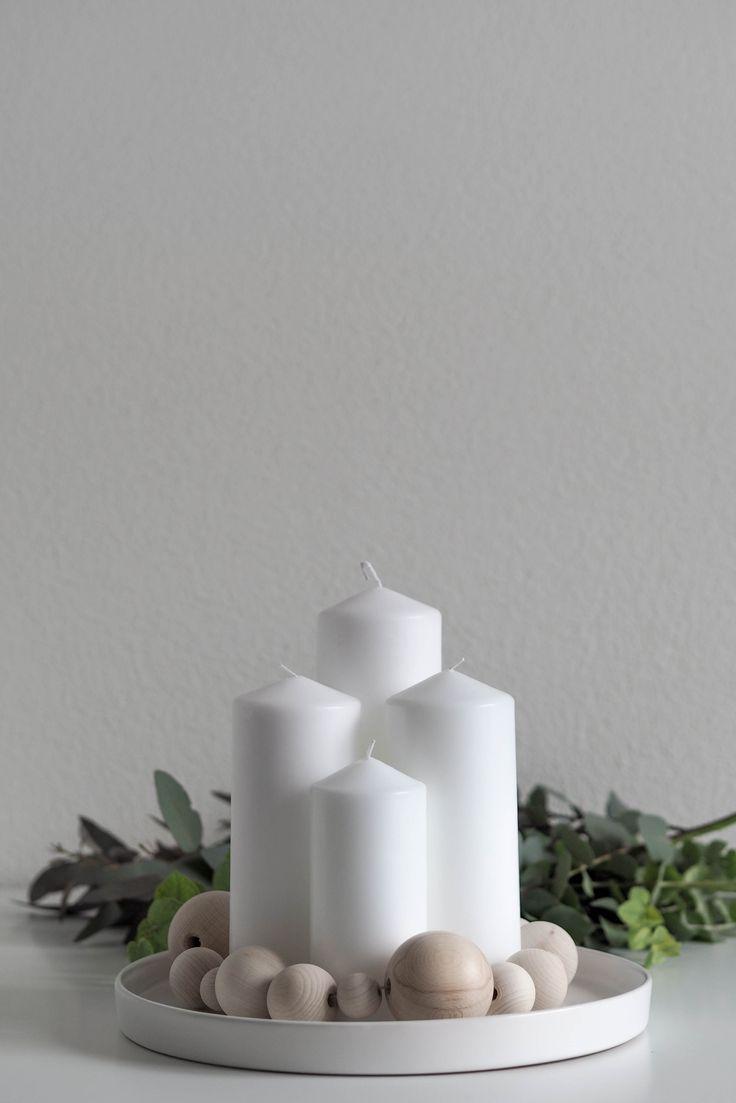 DIY Holzkugel-Adventskranz: Ein einfacher Last-Min…
