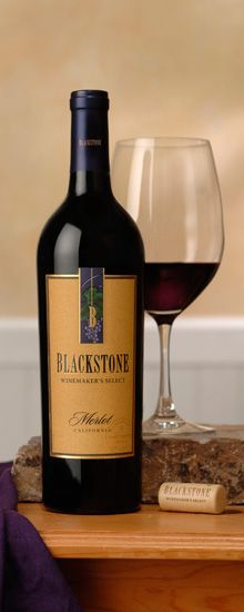 """""""Blackstone"""" from Sonoma, CA - Best $10 red."""