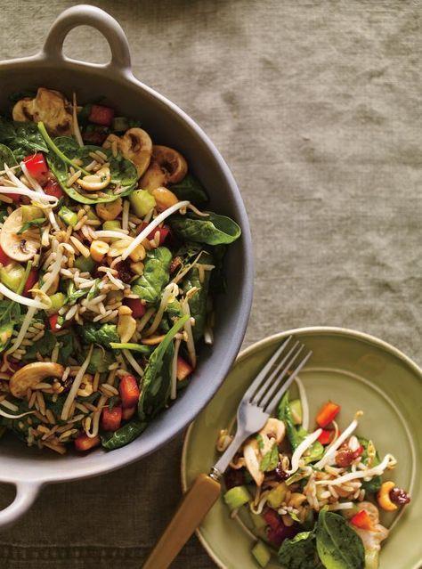 18 best recettes salades images on pinterest vegan recipes cooking food and healthy meals. Black Bedroom Furniture Sets. Home Design Ideas
