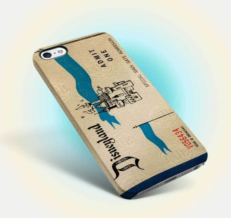 disneyland ticket vintage design iphone case apple 6 6s old oldies family 07 #UnbrandedGeneric